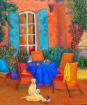 Late Summer Afternoon by Judy Feldman