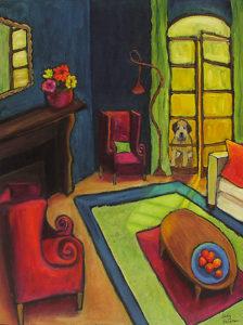 Outside the Blue Room by Judy Feldman