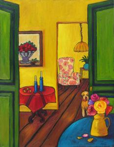Through the Green Doors by Judy Feldman