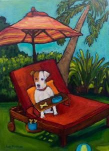 Chillin' Dog Style by Judy Feldman