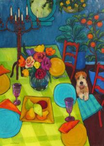 The Luncheon Table by Judy Feldman