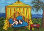 Cabana Dog by Judy Feldman