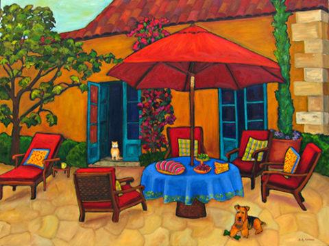 Under the Red Umbrella by Judy Feldman
