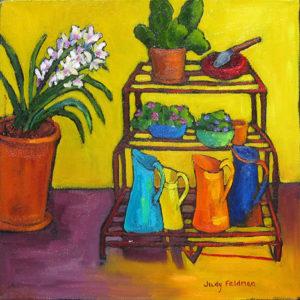 Garden Series I by Judy Feldman