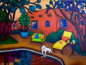 Santa Fe Afternoon by Judy Feldman
